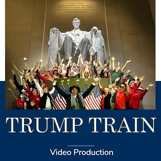 Trump Train Production Photo