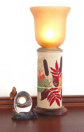 A Touch of Autumn Candle Pedestal