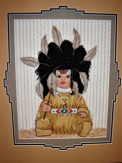 Nancy's Indian baby