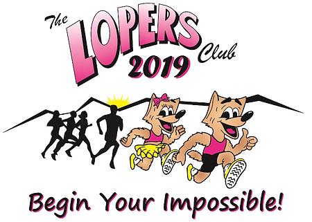 Loma Linda Lopers Logo