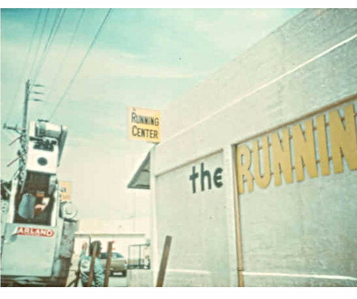 Running Center-First Store 1977