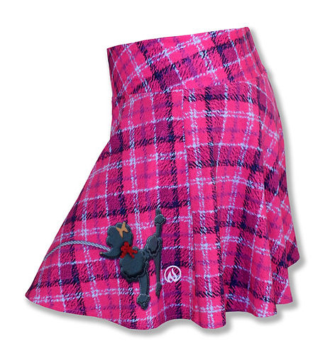 Women's INKnBURN Poodle Flare Skirt