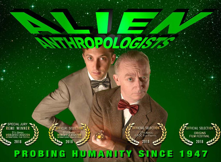 Big Win for Alien Anthropologists at the  51st Annual Worldfest-Houston