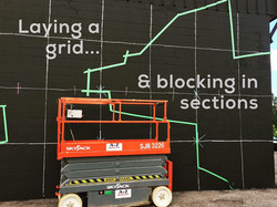 mural grid and blocking