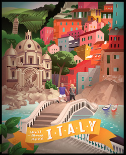 Italy-Travel-Poster