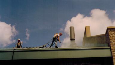 Rooftop Pressure Washing