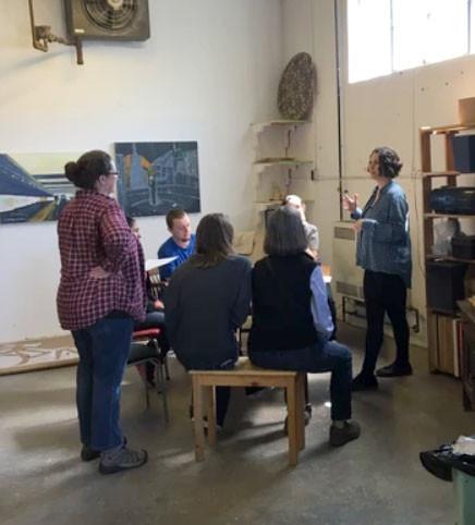 arras mosaic, community workshop, kw arts, ontario