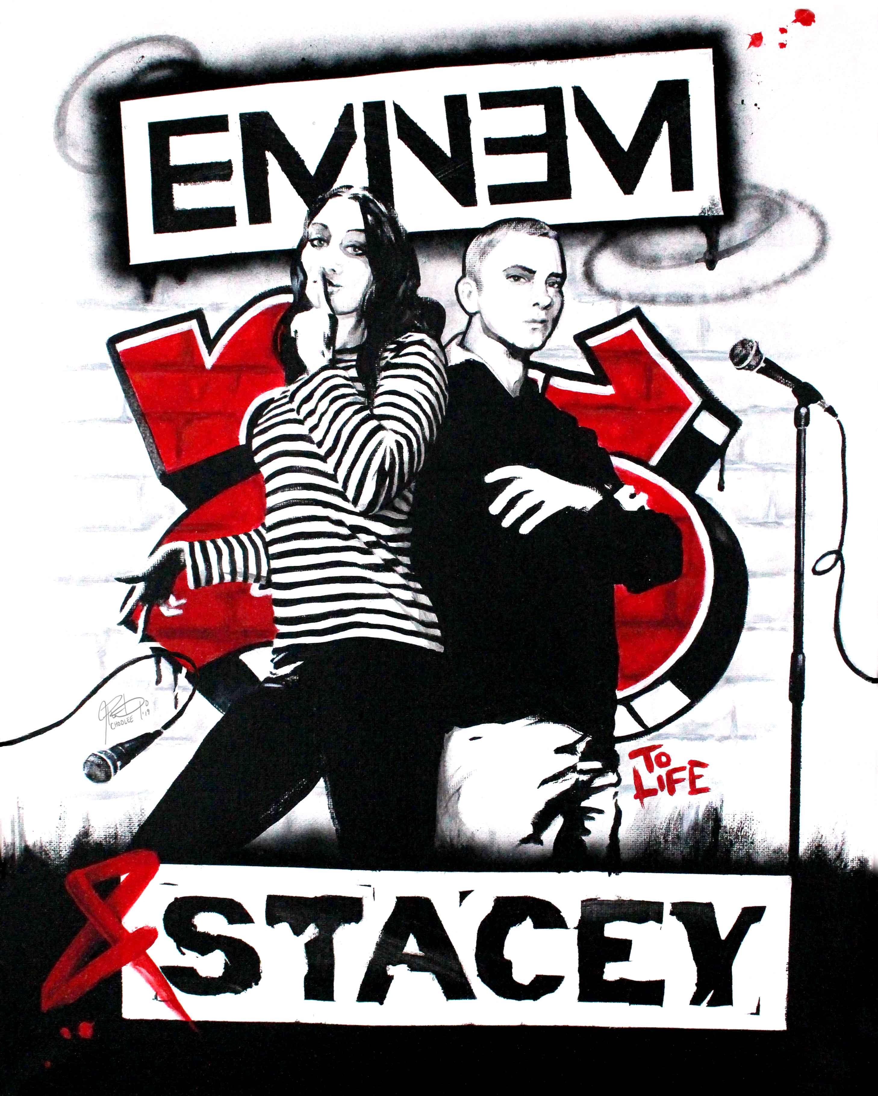 Celebrity Graffiti Portrait