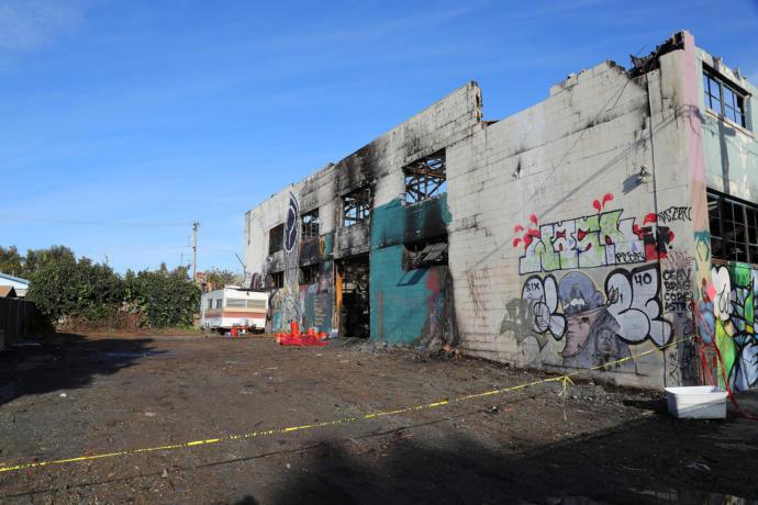 Oakland ghost ship fire
