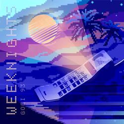 Vaporwave album cover for Gogi 93
