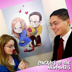 Chibi Wedding Gift