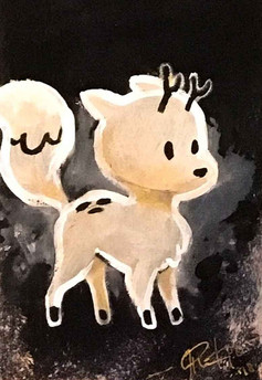 Twig from Hilda, painting by Choolee