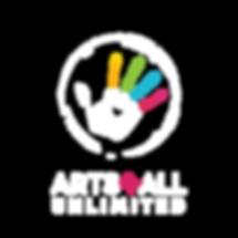 Arts4All Logo White