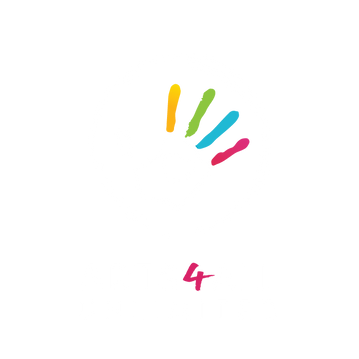 Arts4All Logo White