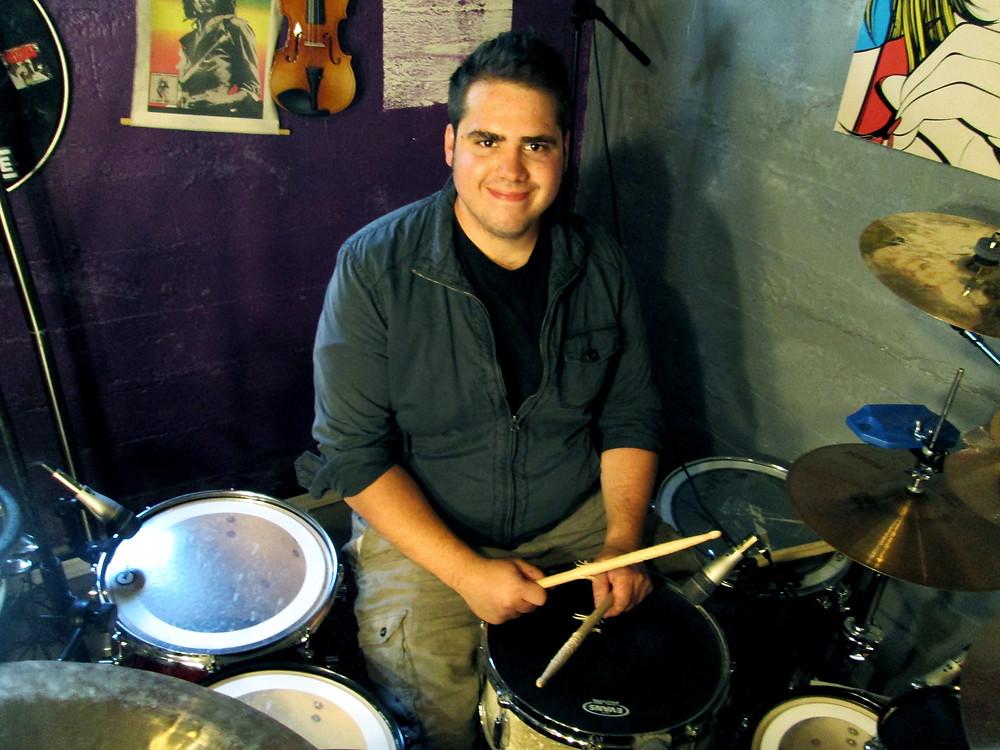 tim kirk, wave potter music, rock music, fireside band drummer