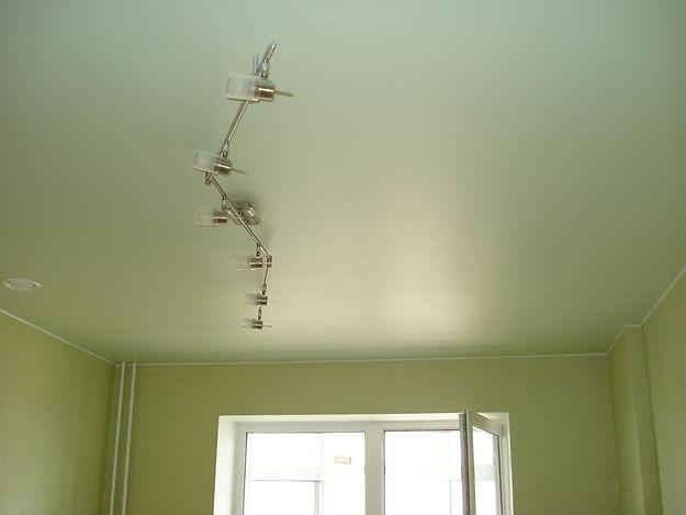 Сатиновый натяжной потолок, потолок сатин, цвет сатин, натяжной потолок сатин