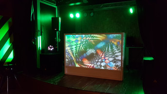 Video DJ Booth visuals