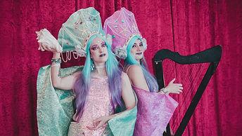 בנות הים שרות mermaids & harp