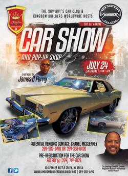 Car Show Flyer 5x7