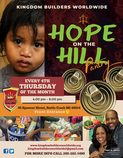 Hope on the Hill Pantry