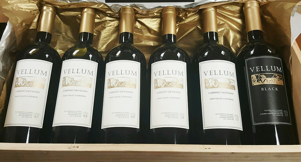 Vellum Wine Library