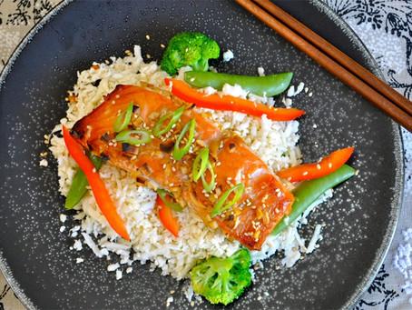 BEST Salmon Dinner!