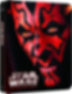 Star Wars Episode 1: The Phantom Menace HMV Steelbook