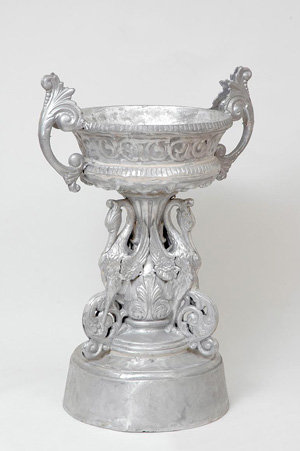 Swan Urn with Handles