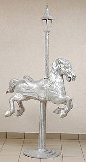 Carousel Horse #6 with Small Holland Top