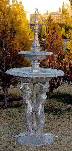 """3 Tier Mermaid Fountain-H.86"""""""