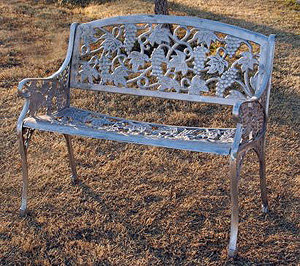 Grape Bench    Call For Price