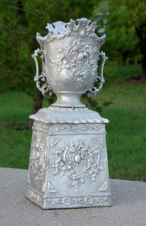 French Urn with Base