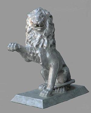 Lion Right Paw Raised