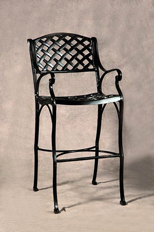 Crossweave Bar Stool