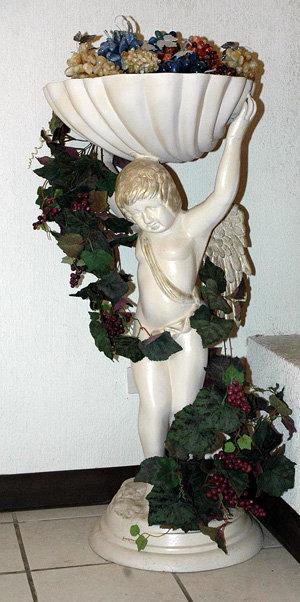 Angel Planter/ Birdbath
