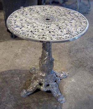 """Rosebud Pedestal Table-H:29"""""""