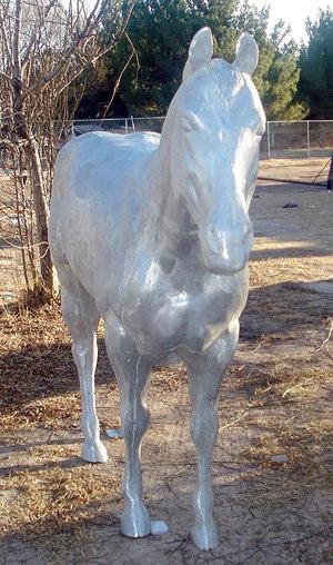 Large Quarter Horse