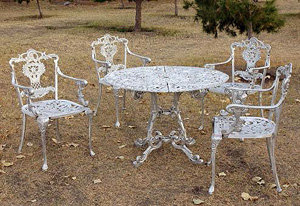 Versailles Patio Set 5 piece