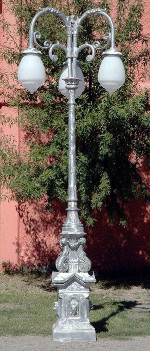 """Guadalajara Lamp, 3 Arm 3 Light-H:12'3"""""""