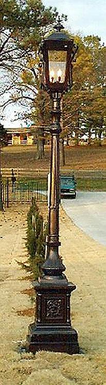 Compton Lamp, Single-H:10'