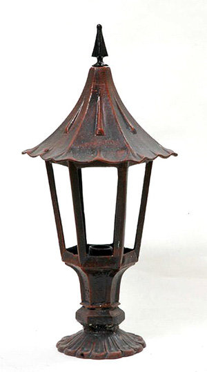 "Holland Fence Light, Large-Ht 32"" W 13"""