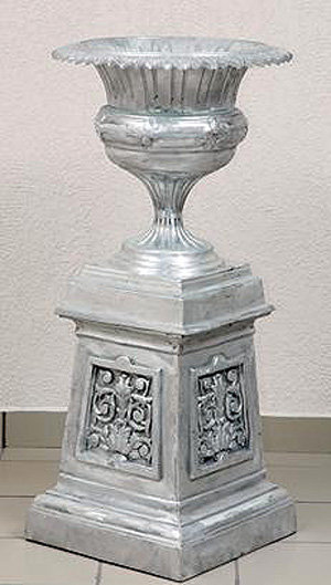 Britannia Urn with Base