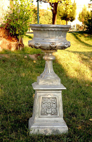 Victorian Urn with Base
