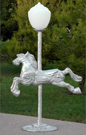 Carousel Pony with Light