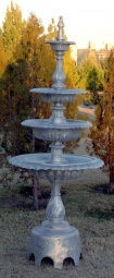 4 Tier Fountain with Arches