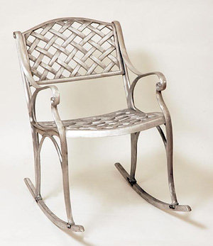 Crossweave Rocking Chair-H:30""