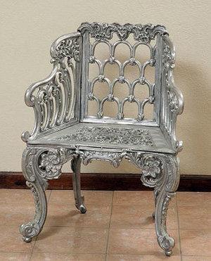 "Colonial Chair-H:35""W:27"""