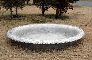 "Small Fountain Pool -Dia 60""D 5"""