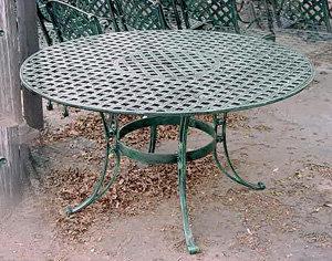 "Crossweave Table, Medium Round-D:46"""