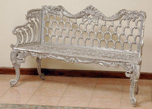"""Colonial Bench, Large-H:35""""L:60"""""""